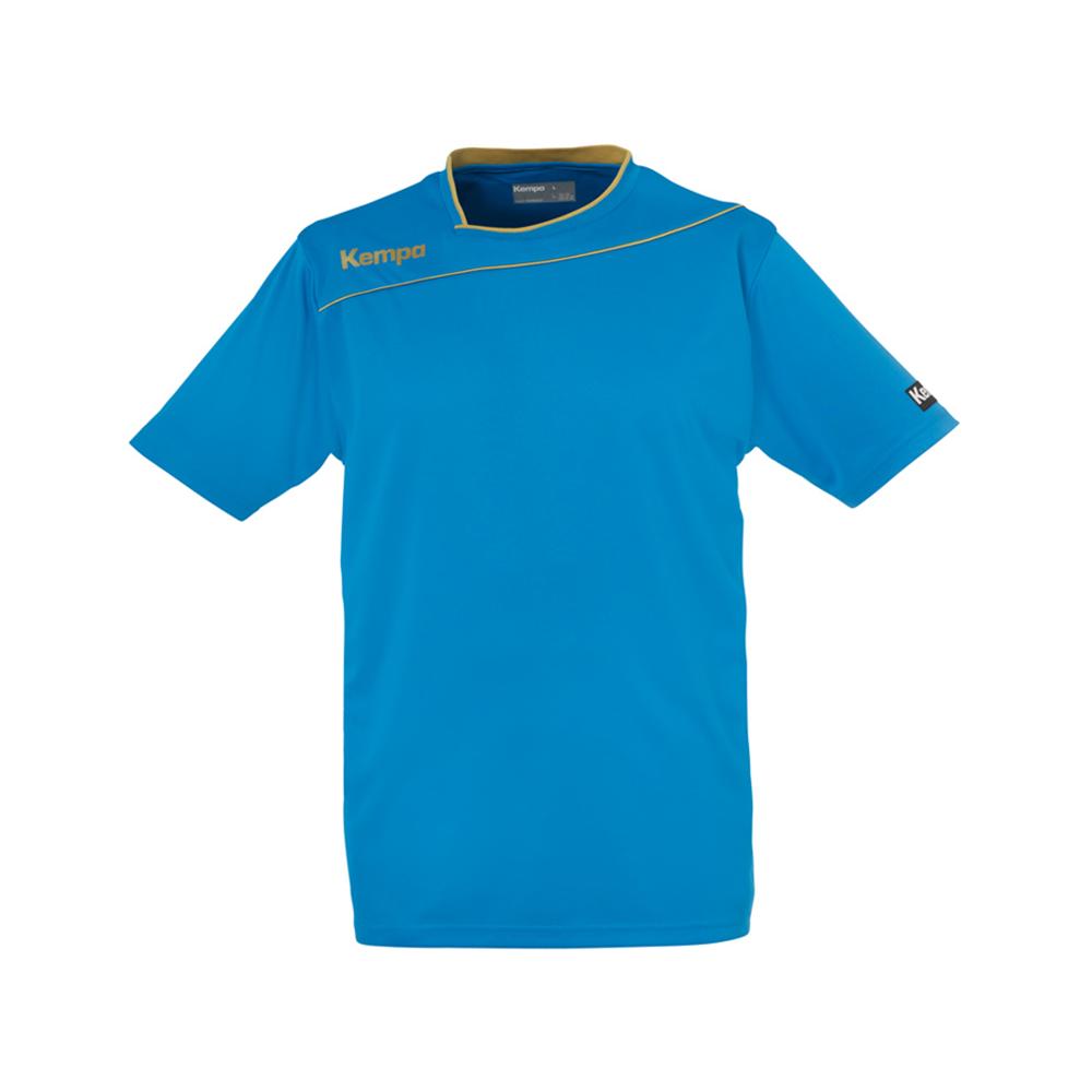 Kempa Gold Shirt - Bleu Kempa