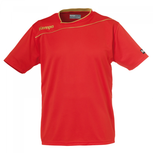 Kempa Gold Shirt - Rouge