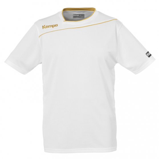 Kempa Gold Shirt - Blanc