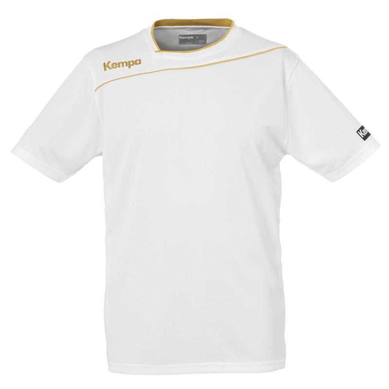 Kempa Gold Shirt - Blanc