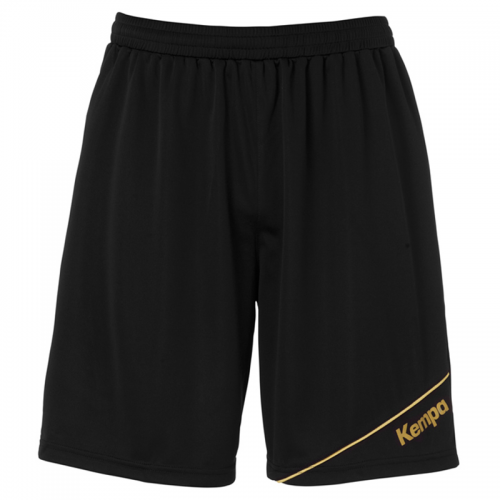 Kempa Gold Shorts - Noir & Or