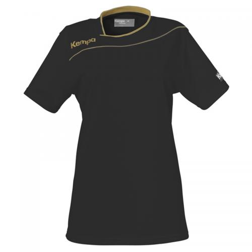 Kempa Gold Shirt Women - Noir