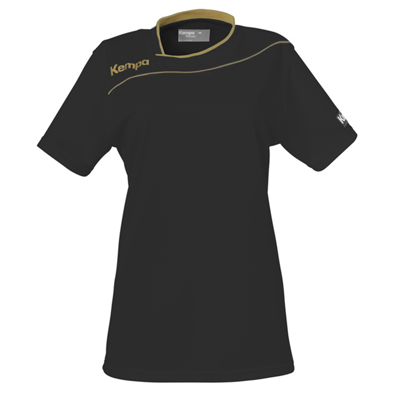 Kempa Gold Shirt Women - Noir
