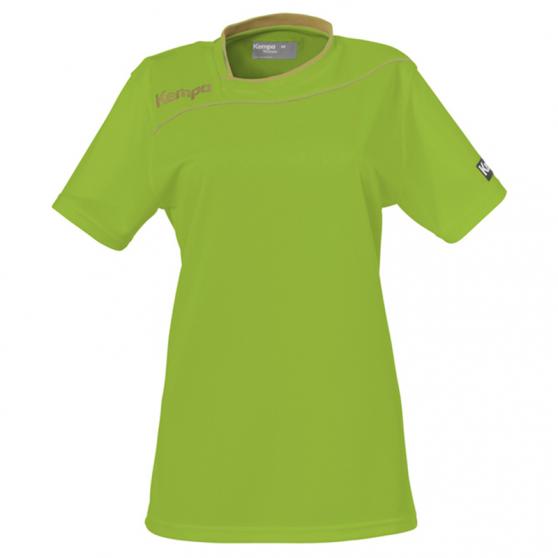 Kempa Gold Shirt Women - Vert Espoir