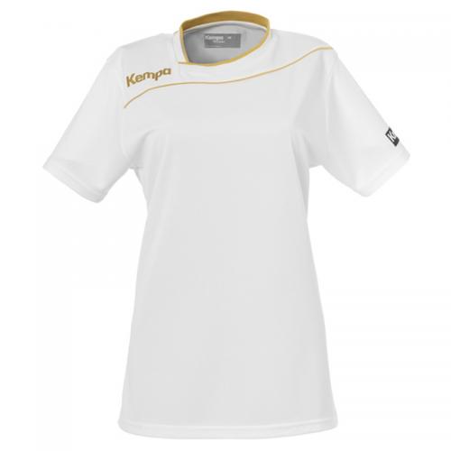 Kempa Gold Shirt Women - Blanc