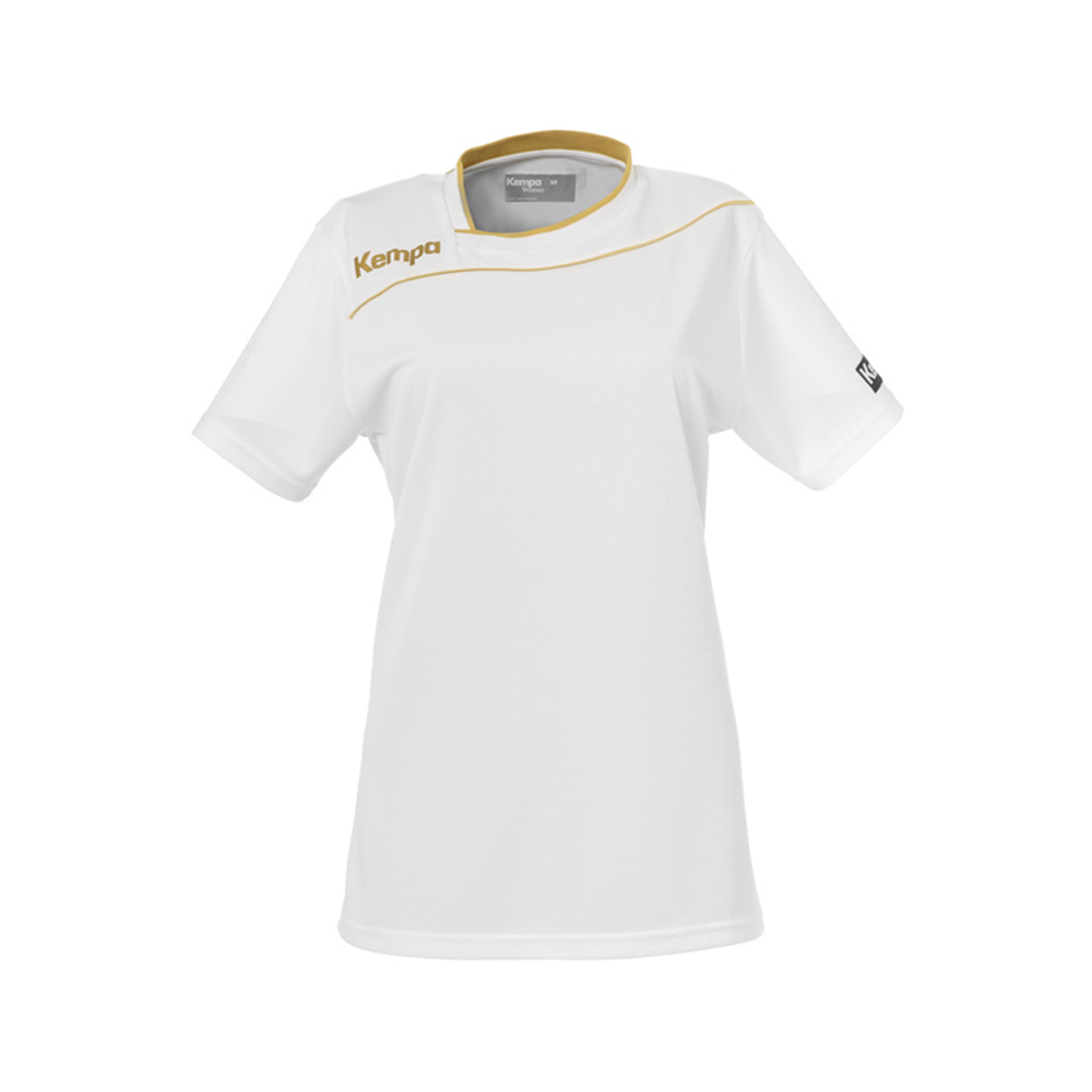 Kempa Gold Shirt Women - Blanc