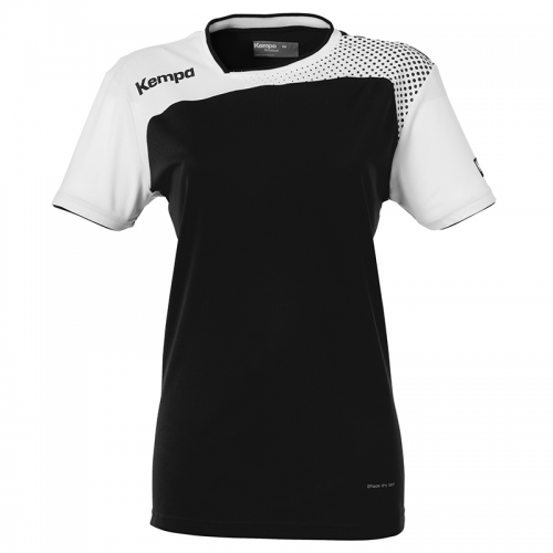 Kempa Emotion Women Shirt - Noir & Blanc