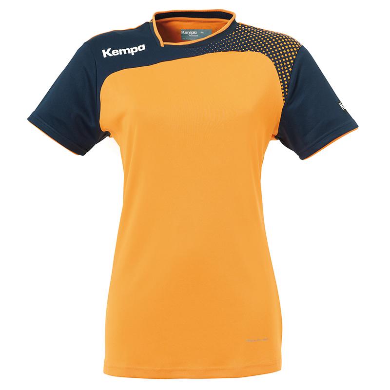 Kempa Emotion Women Shirt - Orange & Marine