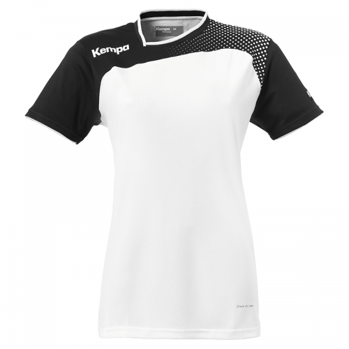 Kempa Emotion Women Shirt - Blanc & Noir