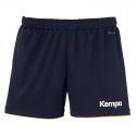 Kempa Emotion Shorts Women - Marine & Orange