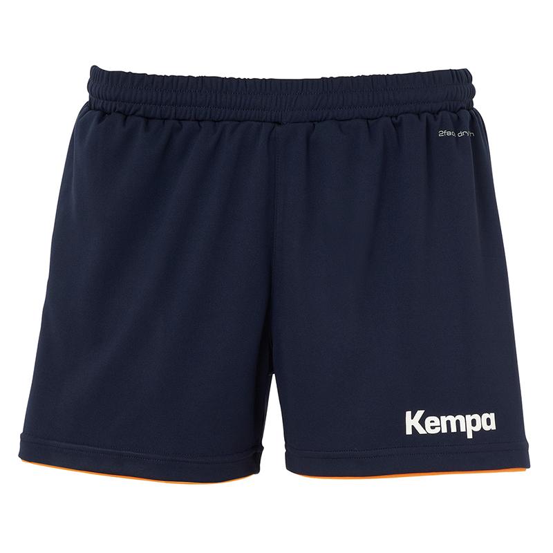Kempa Emotion Shorts Women - Orange & Marine