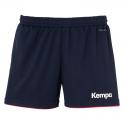 Kempa Emotion Shorts Women - Marine & Rouge