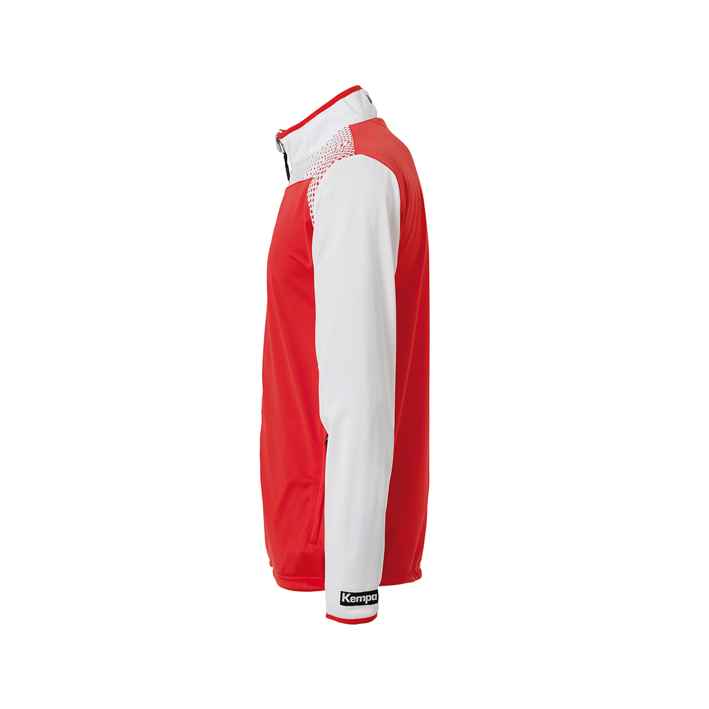 Kempa Emotion Classic Jacket - Rouge - Vue de côté