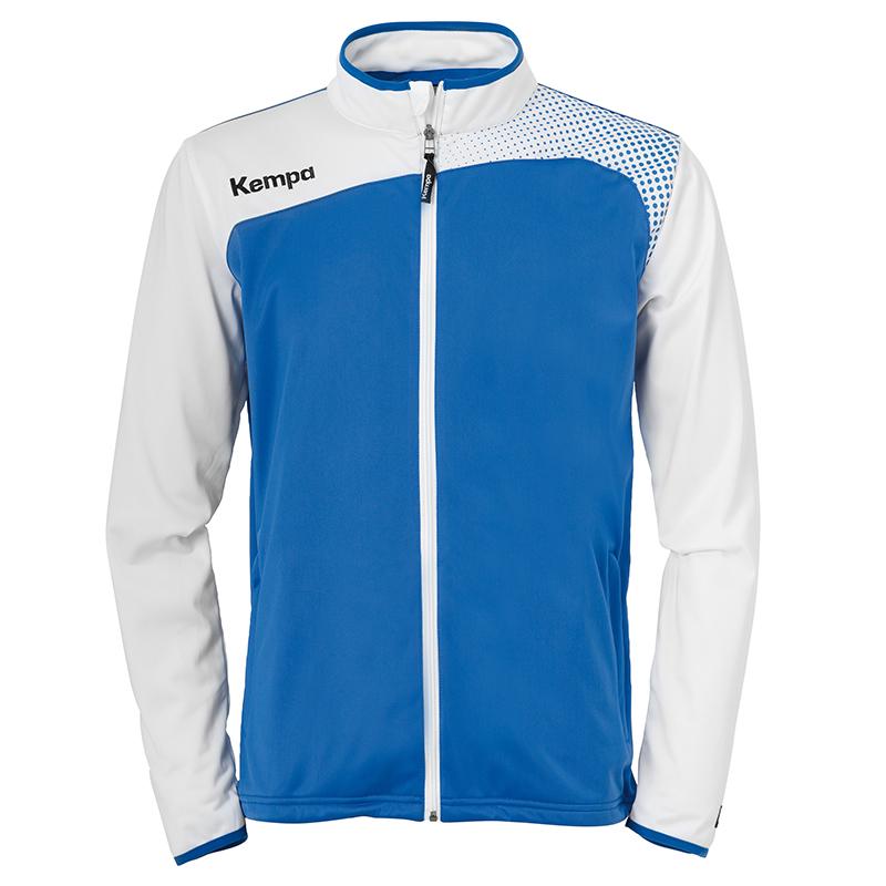 Kempa Emotion Classic Jacket - Azur & Blanc