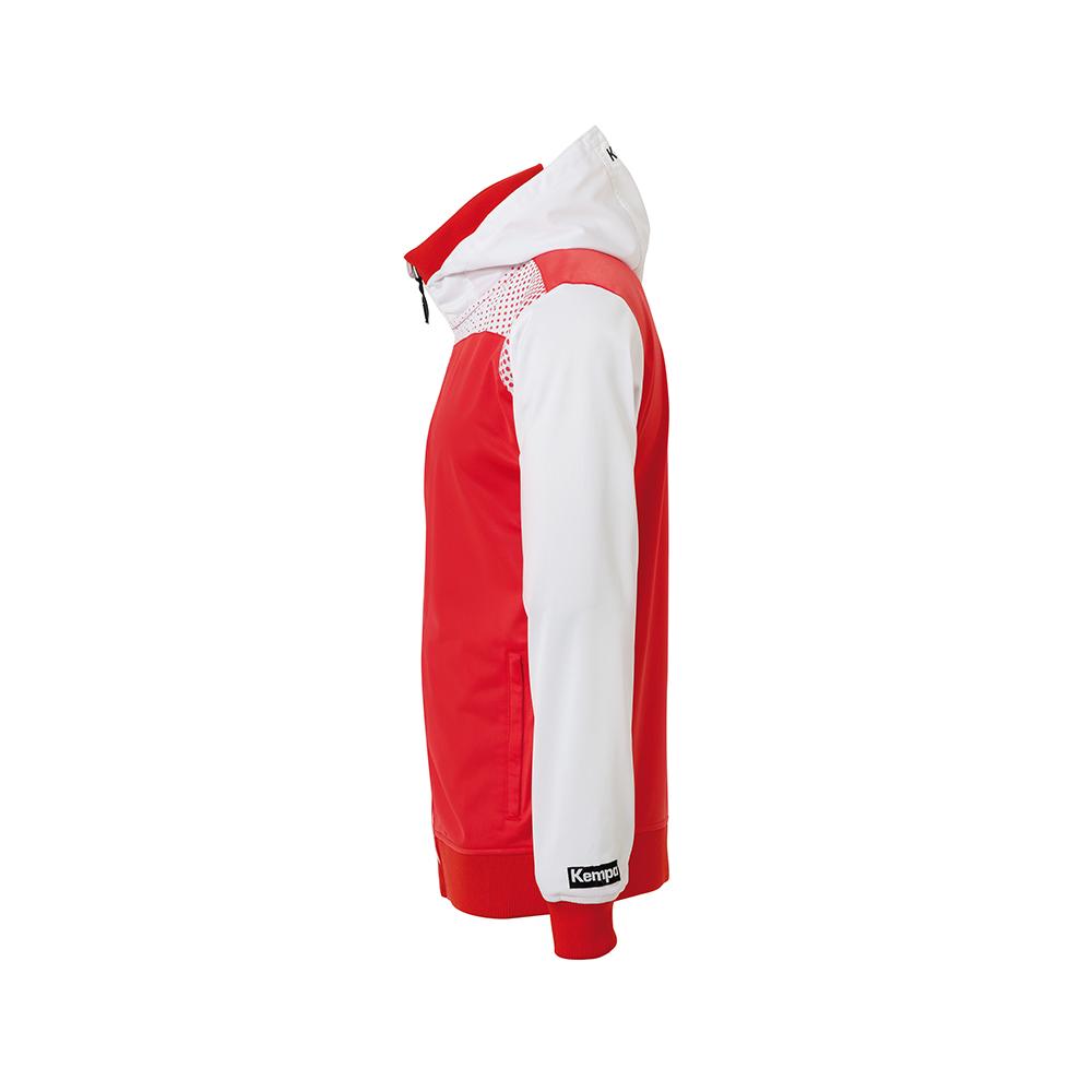 Kempa Emotion Hood Jacket - Rouge - Vue de côté