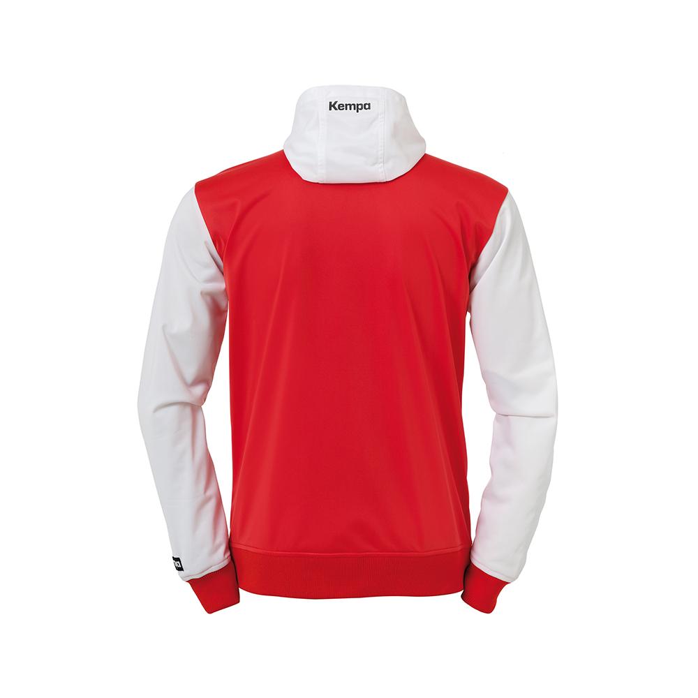 Kempa Emotion Hood Jacket - Rouge - Vue de dos