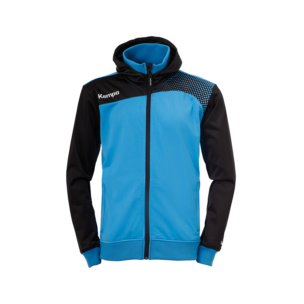 Kempa Emotion Hood Jacket - Bleu Kempa