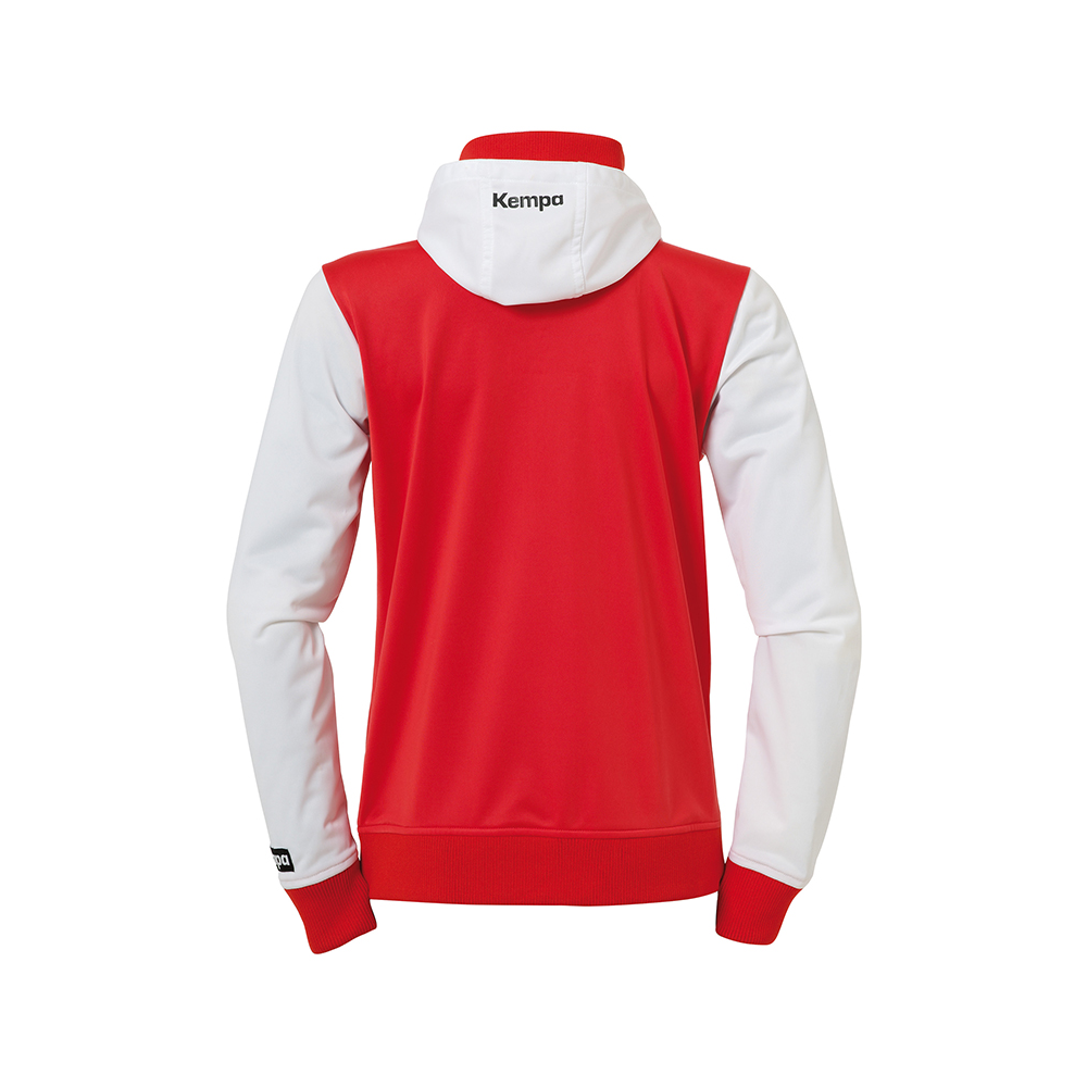 Kempa Emotion Women Hood Jacket - Rouge - Vue de dos