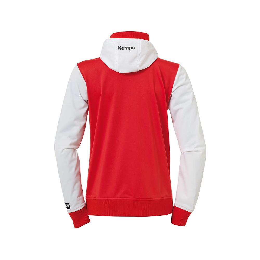 Kempa Emotion Women Hood Jacket - Rouge - Vue de dos