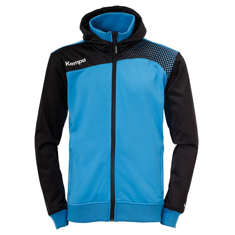 Kempa Emotion Women Hood Jacket - Bleu Kempa