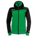 Kempa Emotion Women Hood Jacket - Vert