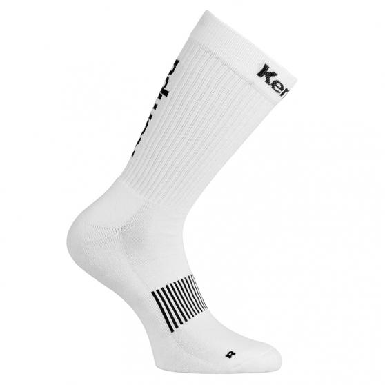 Kempa Logo Classic Socks - Blanc & Noir