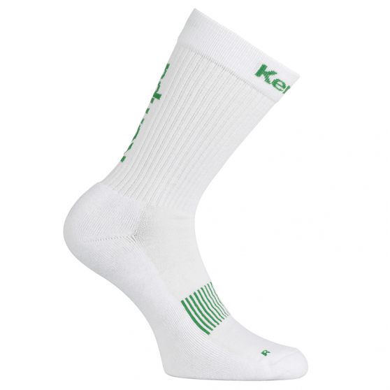 Kempa Logo Classic Socks - Blanc & Vert