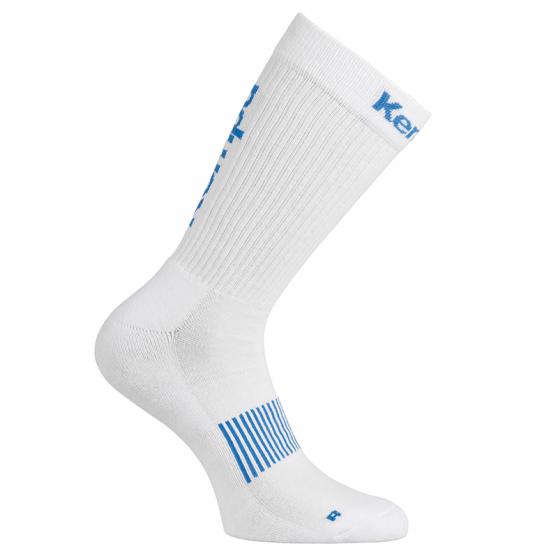Kempa Logo Classic Socks - Blanc & Azur