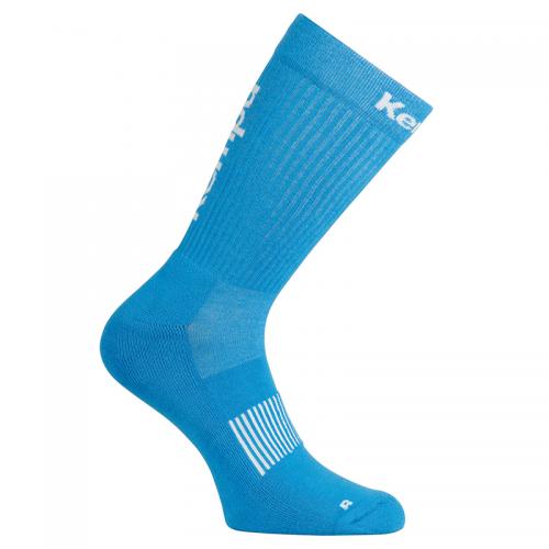 Kempa Logo Classic Socks - Bleu Kempa & Blanc