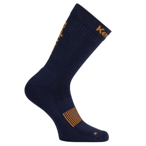 Kempa Logo Classic Socks - Marine & Orange