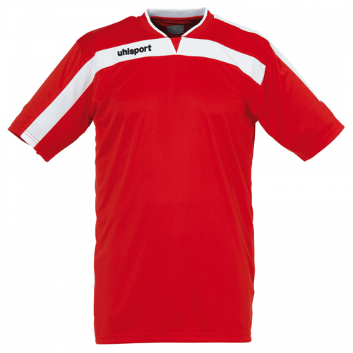 Uhlsport Liga Shirt - Rouge & Blanc