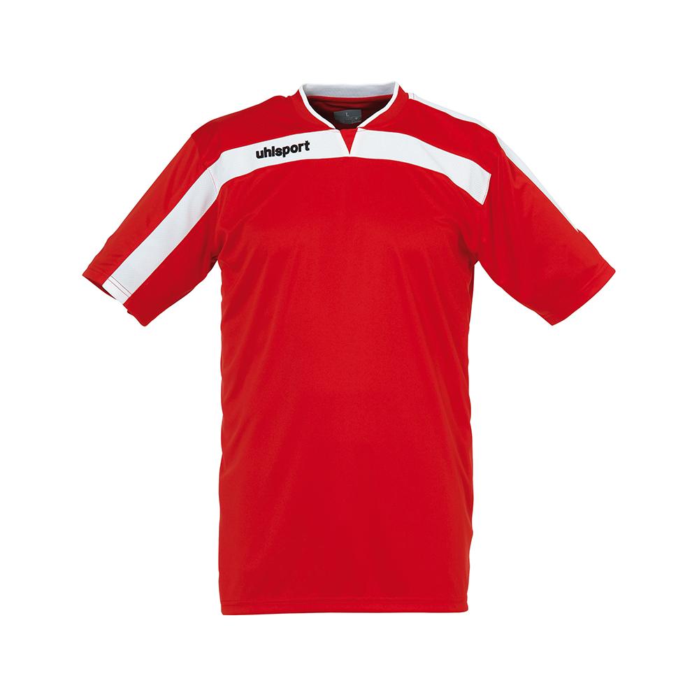 Uhlsport Liga Shirt - Rouge & Blanc
