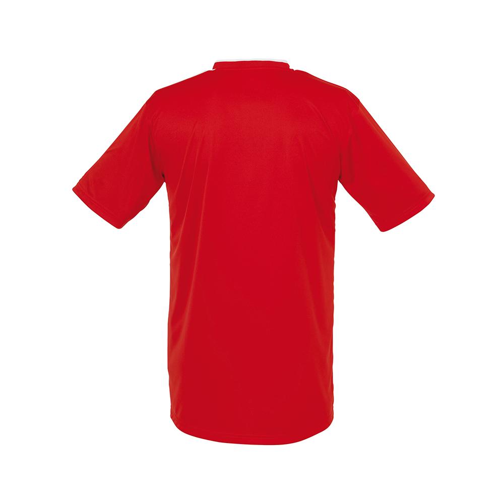 Uhlsport Liga Shirt - Rouge & Blanc - Vue de dos