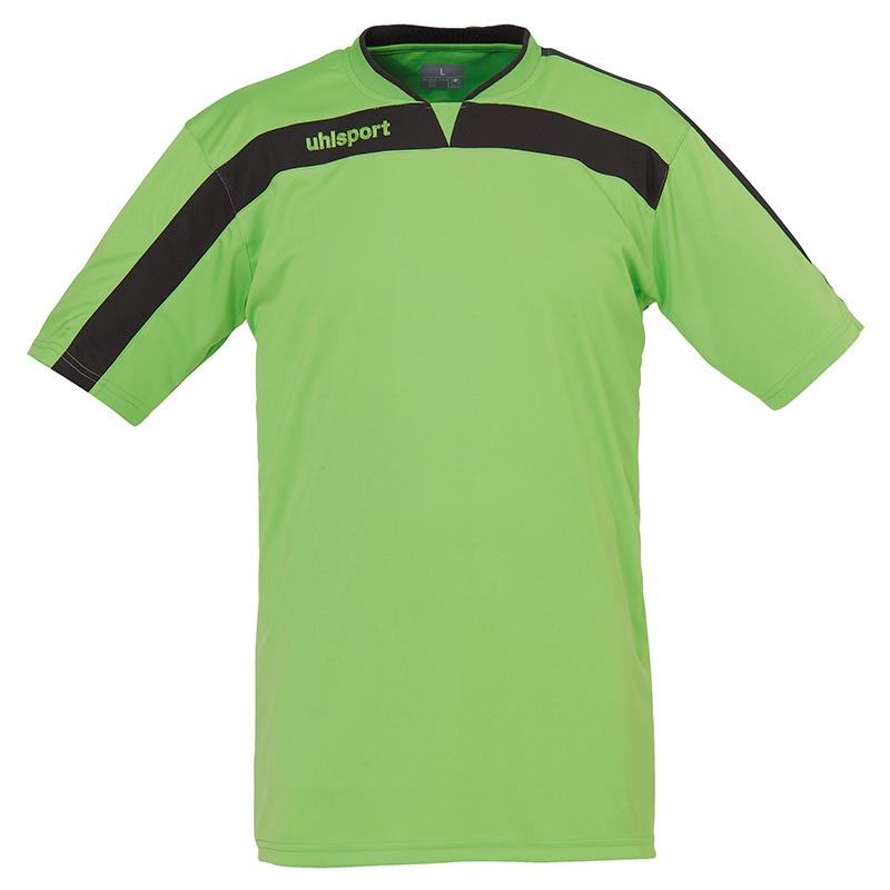 Uhlsport Liga Shirt - Vert & Anthracite