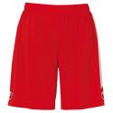 Uhlsport Liga Shorts - Rouge & Blanc