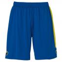 Uhlsport Liga Shorts - Azur & Jaune