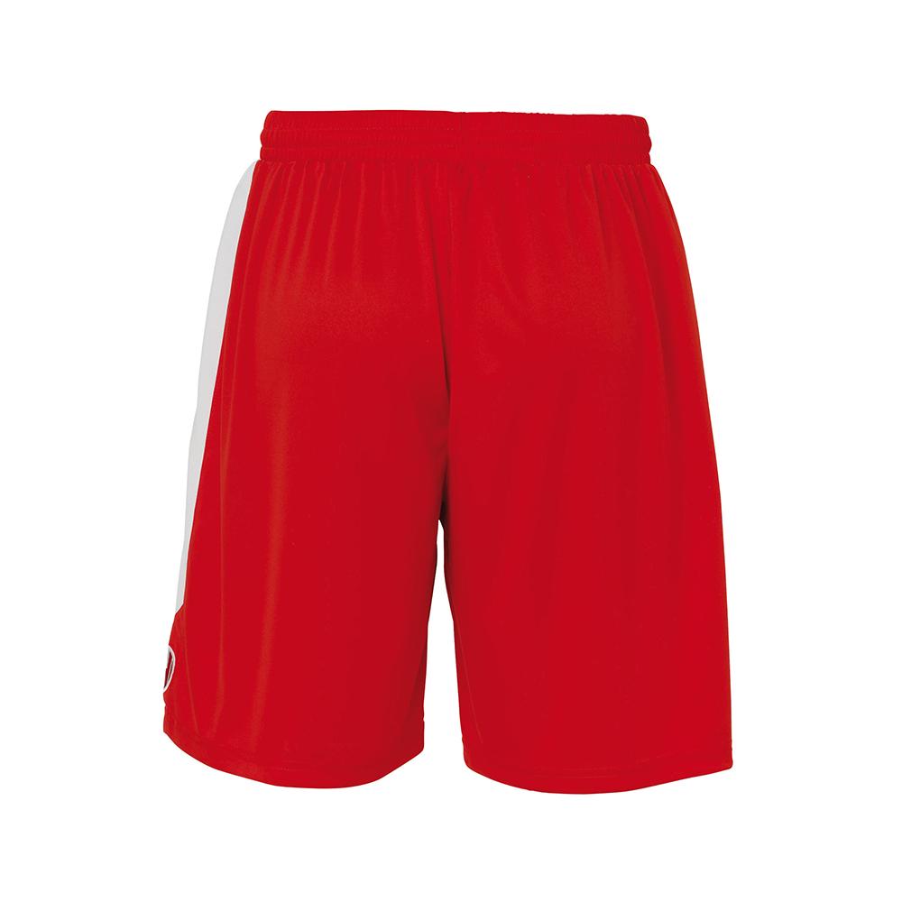 Uhlsport Liga Shorts - Rouge & Blanc - Vue de dos