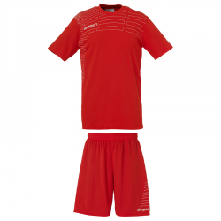 Uhlsport Match Team Kit Men - Rouge & Blanc