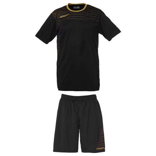 Uhlsport Match Team Kit Men - Noir & Or