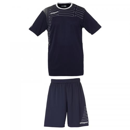 Uhlsport Match Team Kit Men - Marine & Blanc