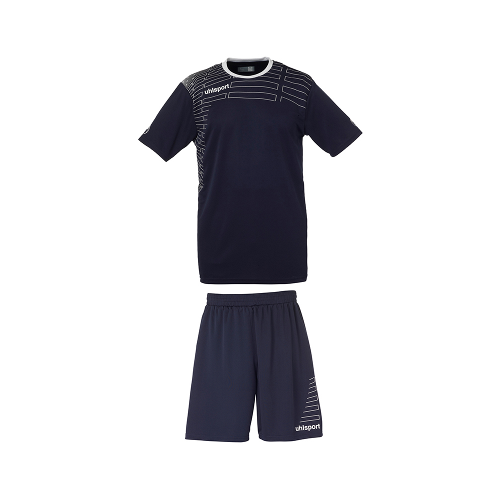 Uhlsport Match Team Kit Men - Marine & Blanc
