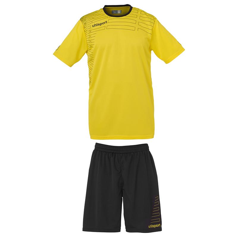 Uhlsport Match Team Kit Men - Jaune & Noir