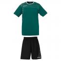 Uhlsport Match Team Kit Men - Vert & Blanc