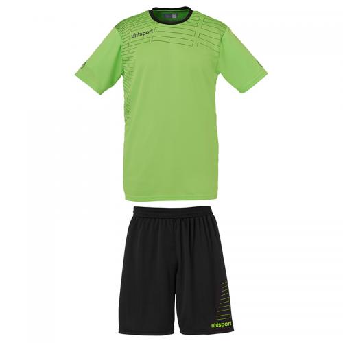 Uhlsport Match Team Kit Men - Vert & Noir