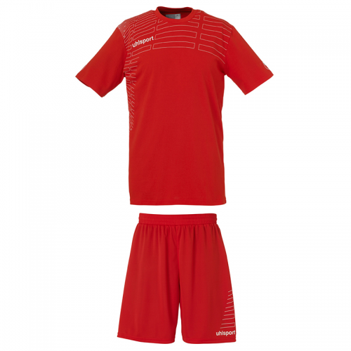 Uhlsport Match Team Kit Women - Rouge & Blanc