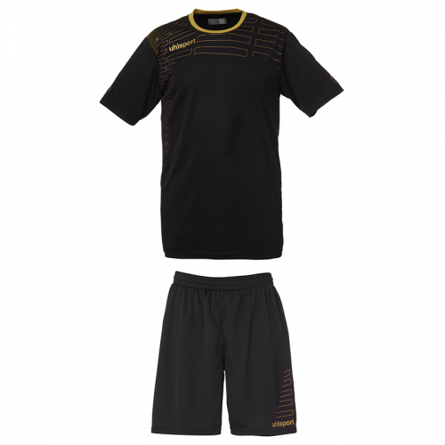 Uhlsport Match Team Kit Women - Noir & Or