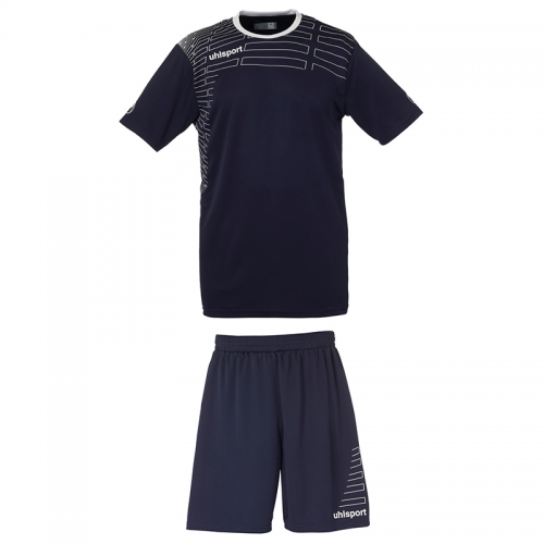 Uhlsport Match Team Kit Women - Marine & Blanc
