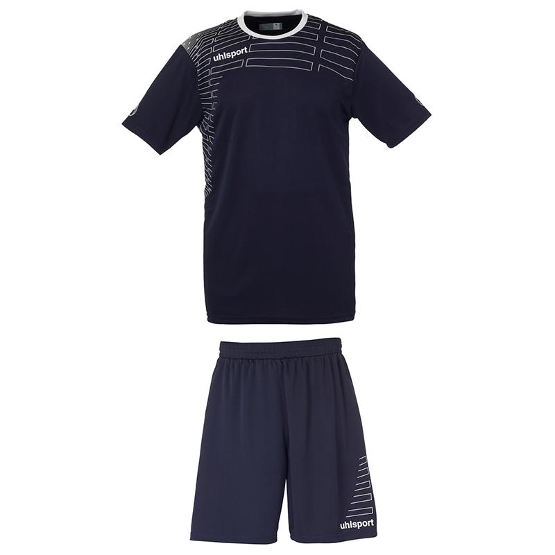 Uhlsport Match Team Kit Women - Marine & Blanc