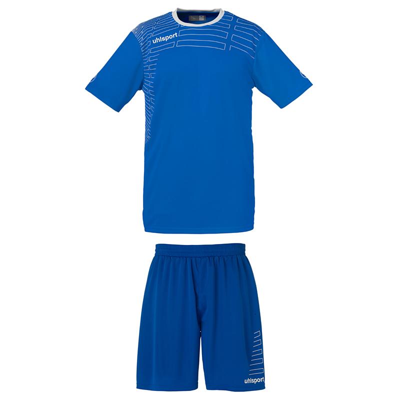 Uhlsport Match Team Kit Women - Azur & Blanc