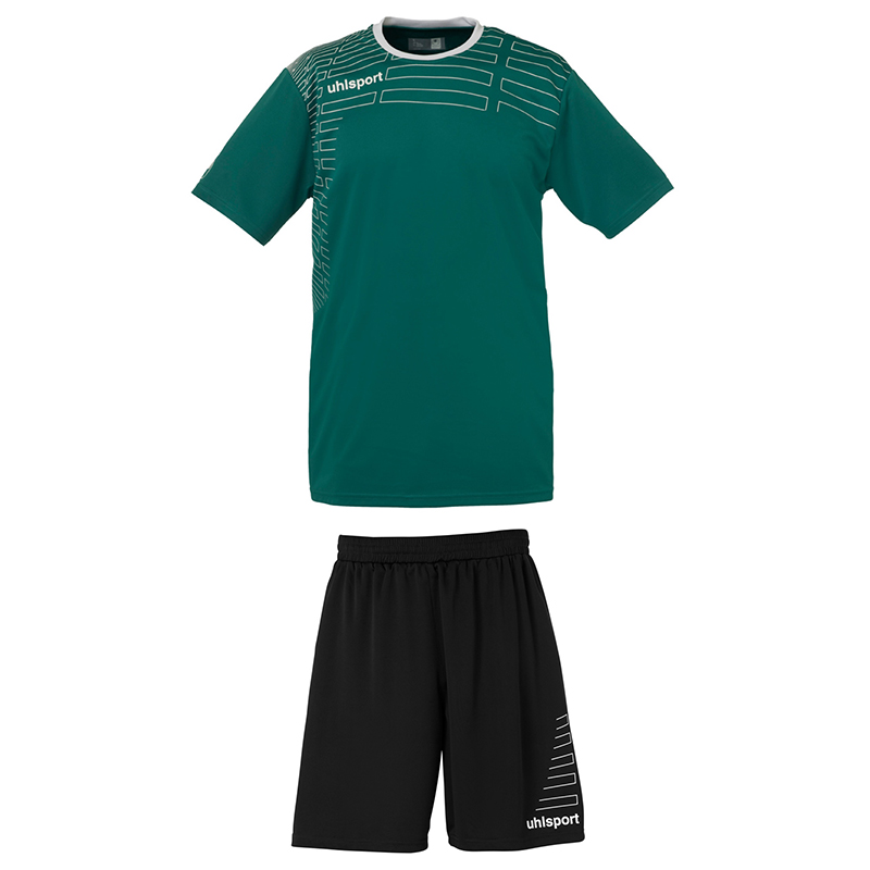 Uhlsport Match Team Kit Women - Vert & Blanc